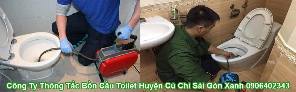 Thông Tắc Bồn Cầu Huyện Củ Chi Sài Gòn Xanh 0906402343