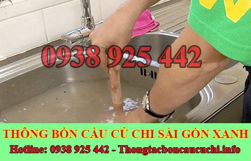 Thông bồn rửa chén bát trào ngược Huyện Củ Chi 0938925442
