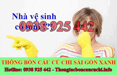 Dịch vụ xử lý mùi hôi nhà vệ sinh Huyện Củ Chi 0906402343
