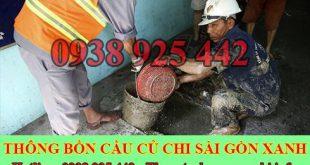 Nạo Vét Hố Ga Huyện Củ Chi Sài Gòn Xanh 0938925442