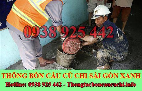 Liên hệ công ty nạo vét hố ga giá rẻ Huyện Củ Chi Sài Gòn Xanh