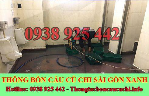 Số điện thoại thông cống nghẹt Huyện Củ Chi giá rẻ 0938925442
