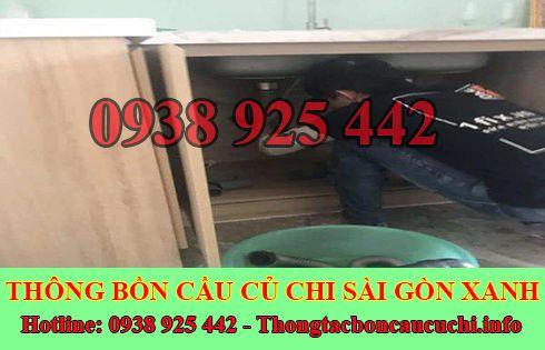 Thợ sửa bồn rửa chén bát Huyện Củ Chi tại nhà 0938925442