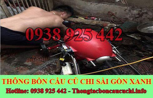 Dịch Vụ Thông Cầu Cống Nghẹt Huyện Củ Chi Sài Gòn Xanh