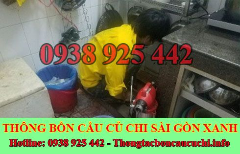 Thông đường ống nước bị tắc nghẹt Huyện Củ Chi 0938925442