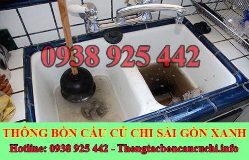 thông tắc nghẹt bồn rửa chén bát bồn rửa mặt lavabo Huyện Củ Chi.