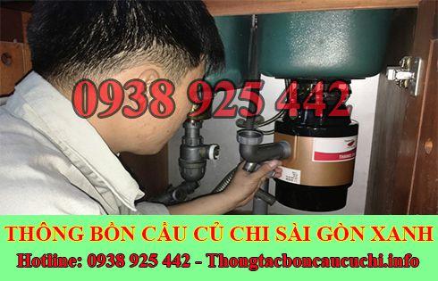Thông tắc bồn chậu rửa chén bát Huyện Củ Chi 0938925442