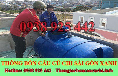 Bảng giá vệ sinh bồn nước Huyện Củ Chi giá rẻ 0938925442